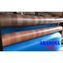 Copri pavimento tappeto PVC gomma antiscivolo bollato grigio