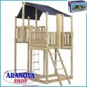 Kit costruzione torretta Blue Rabbit Duplex per gioco bimbi escluso il legno